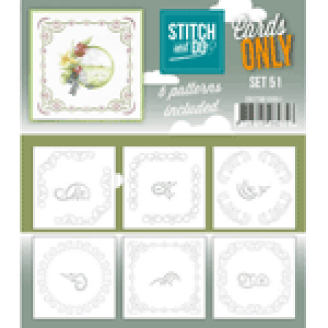 Stitch & Cards only set 51