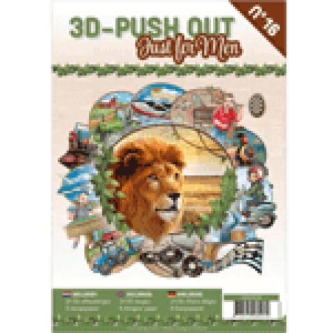 3D Uitdrukvellenboek 16 just for men