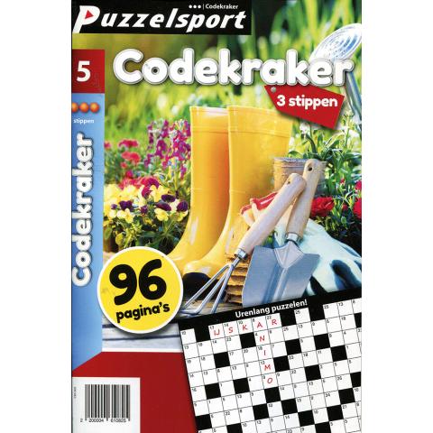 Puzzelsport 96 p. codekraker 3 stippen