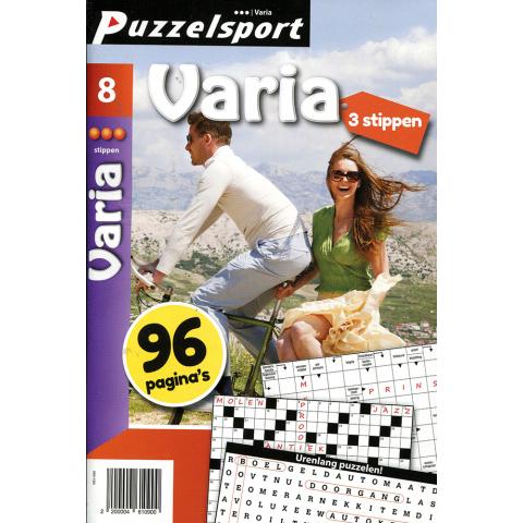 Puzzelsport 96 p. varia 3 stippen nr. 8