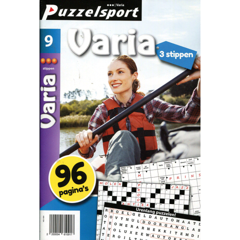 Puzzelsport 96 p. varia 3 stippen nr. 9