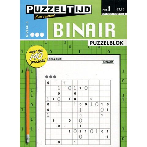 Puzzelblok binair 3 punt nr. 1
