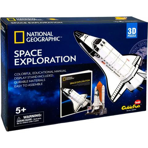 3D puzzel space shuttle