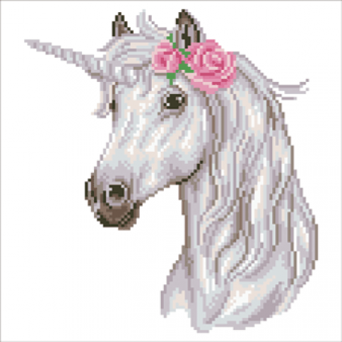Diamond Art Unicorn Leisure Art