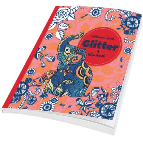 Glitter Kleurboek Bohemian Spirit