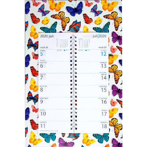 Omleg weekkalender 2020 Vlinders