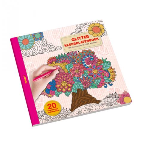 Glitter Kleurplatenboek forest