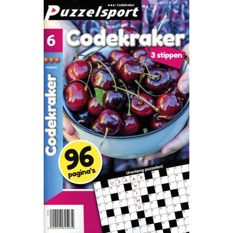Puzzelsport 96 P. Codekraker 3 stippen nr. 006