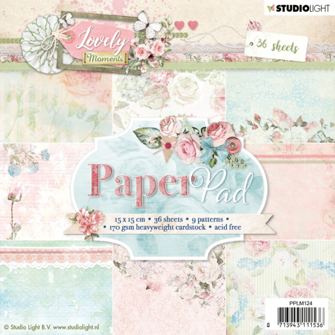 Lovely moments paper pad