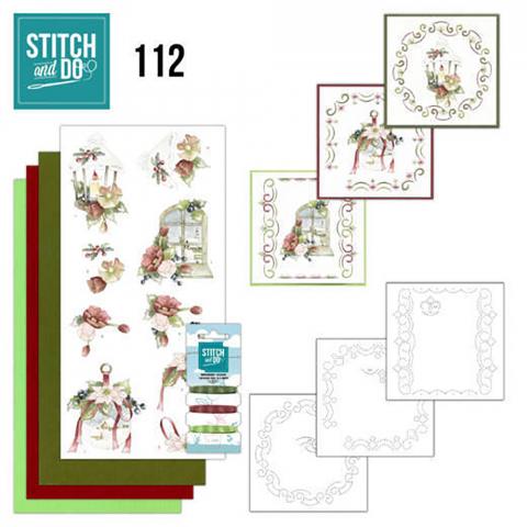Stitch & Do nr. 112 warm kerstgevoel