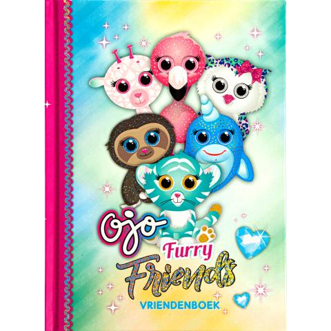 Ojo Furry Friends Vriendenboek