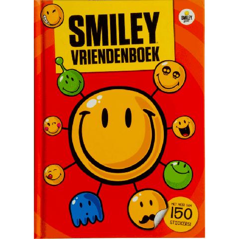 Smiley friends vriendenboek