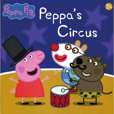 Peppa Pig Peppa's Circus leesboekje