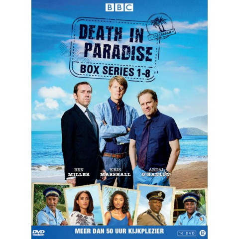 Death in paradise - Seizoen 1-8