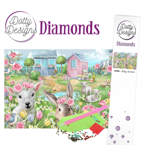 Dotty Designs Diamond, Baby Animals