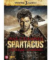 Dvd Spartacus seizoen 3