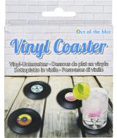 Vinyl onderzetters type Langspeelplaat