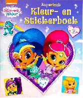 Shimmer & Shine Superleuk Kleur- en stickerboek
