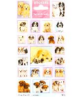 Sticker sheet paper Softies & Cuties Puppies