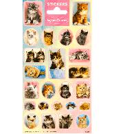Sticker sheet paper Softies & Cuties Cats