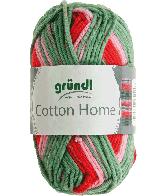 Cotton home 04 groen rood roze 50gr